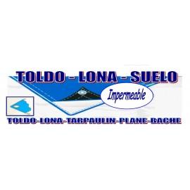TOLDO RAFIA AZUL 130gr 7x8m