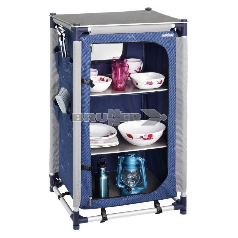 Armario jum box ls ng blau caravaning esguard for Armario plegable camping