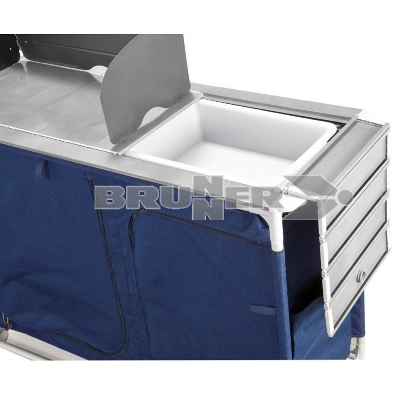 Mueble cocina mercury ctw azul caravaning esguard for Amortiguadores para muebles de cocina