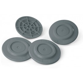 KIT DE 4 APOYAPATAS (PLATES GREY)